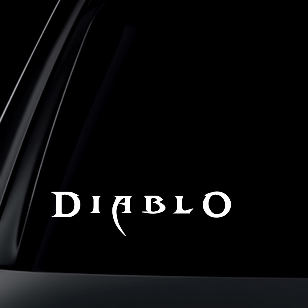Blizzard Diablo 3 III Car Decal / Sticker