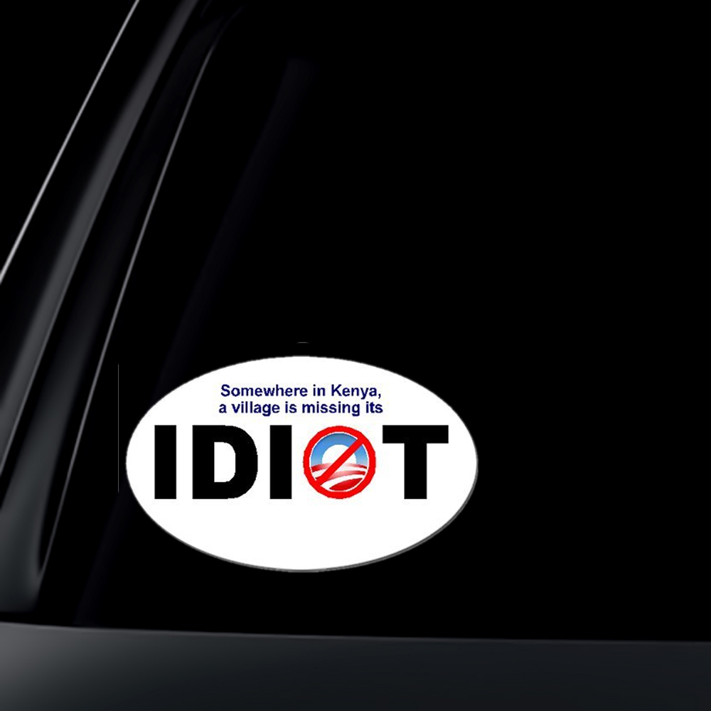 ANTI-Obama: Kenya Missing its IDIOT President Election 2012
