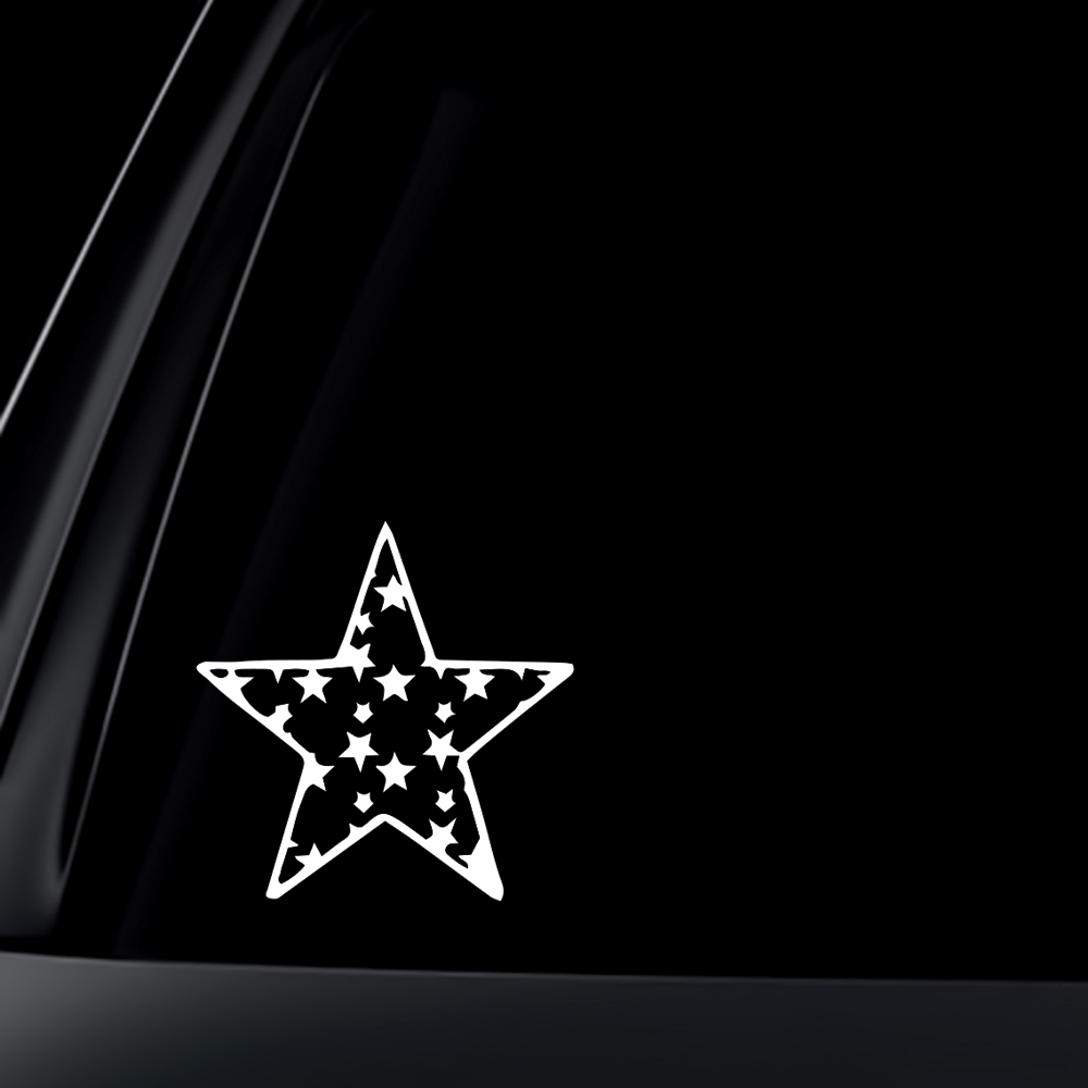 Star Car Decal / Sticker