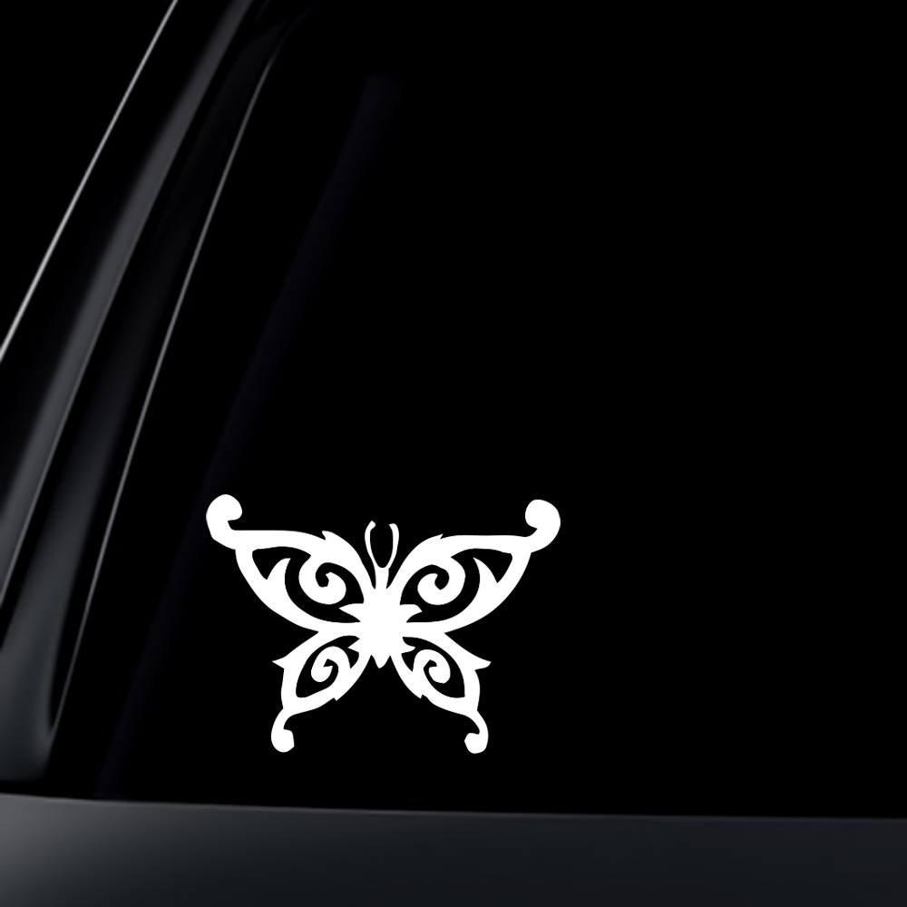 Butterfly Car Decal Sticker