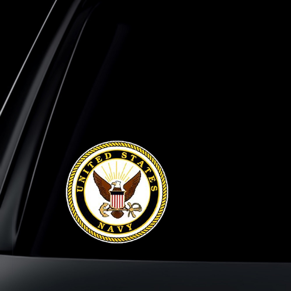 U.S. Navy Car Decal