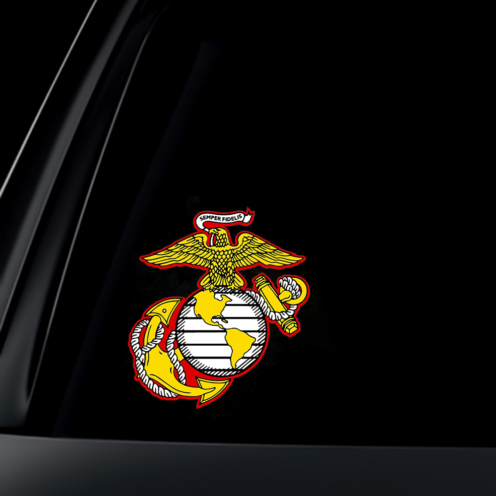 U.S. Marine Corps Semper Fidelis Car Decal / Sticker