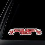Zombie Assault Vehicle Car Decal / Sticker