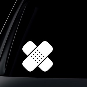 Bandage Car Decal / Sticker
